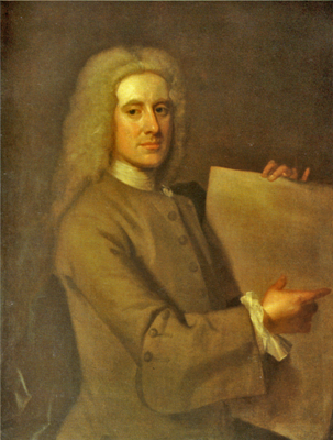 Уильям Адам (William Adam, 1689 – 1748 гг.. Автор – Уильям Эйкмен, 1727г.