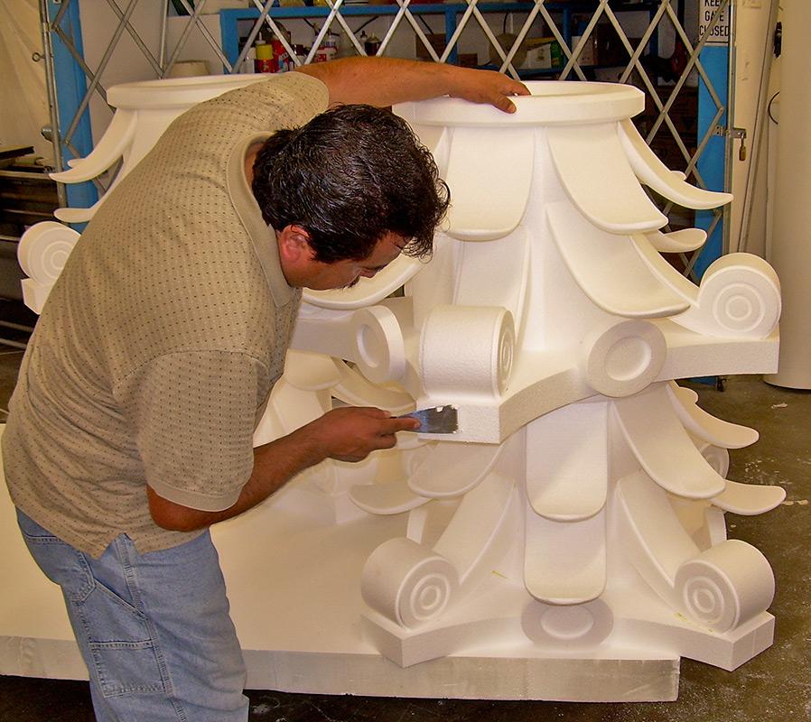 Декорация из пенопласта своими руками 57
