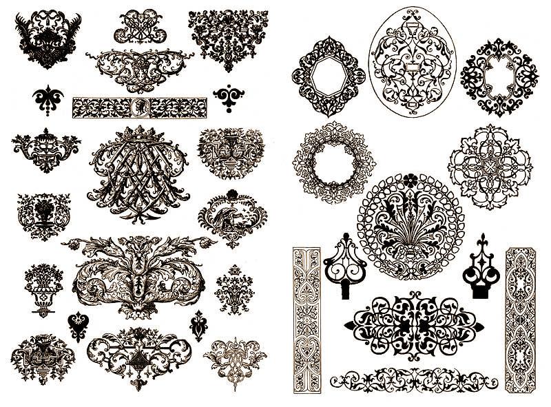 Вид декора орнамент
